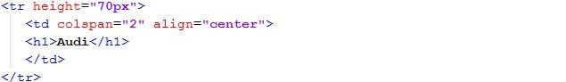 Заголовок страницы html
